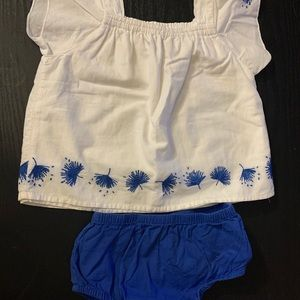 Baby Gap two piece outfit